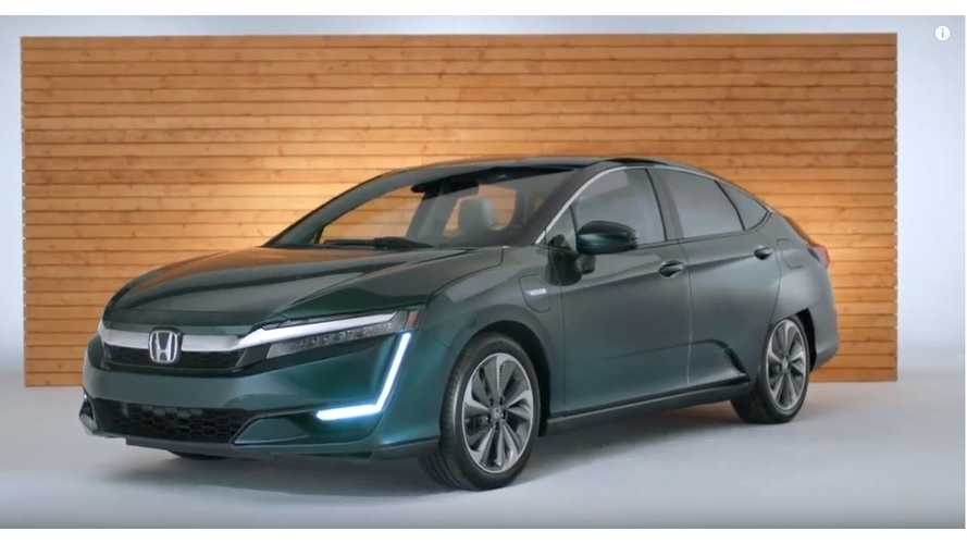 2019 Honda Clarity PHEV Promoted In New Walkaround Video