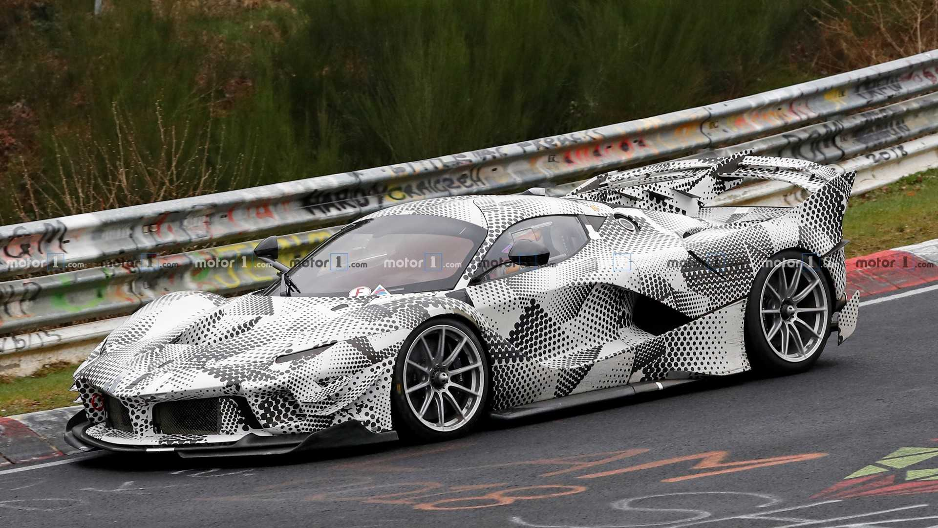 What Is Ferrari Testing With This FXX K Evo,Based Prototype?