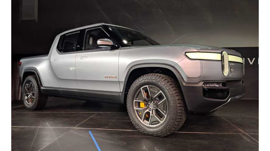 Rivian Talks R1T Electric Truck & R1S SUV Sales Expectations