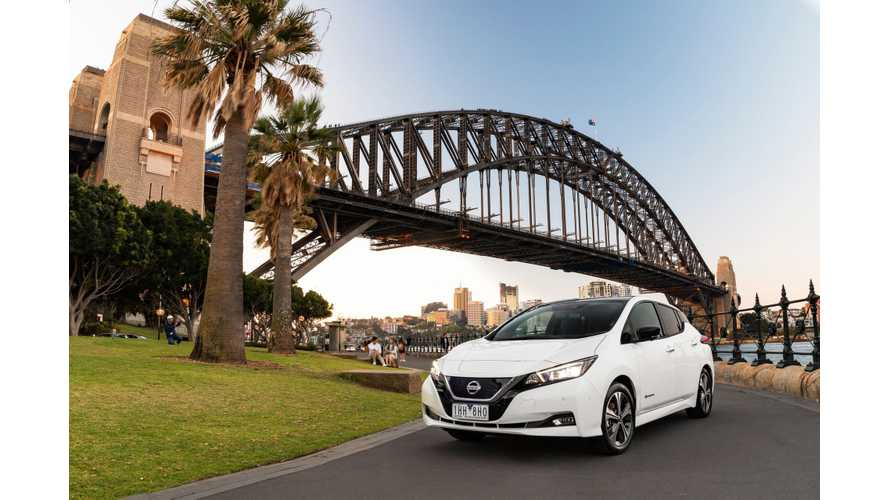 2019 Nissan LEAF Wins Australia's Green Innovation Award