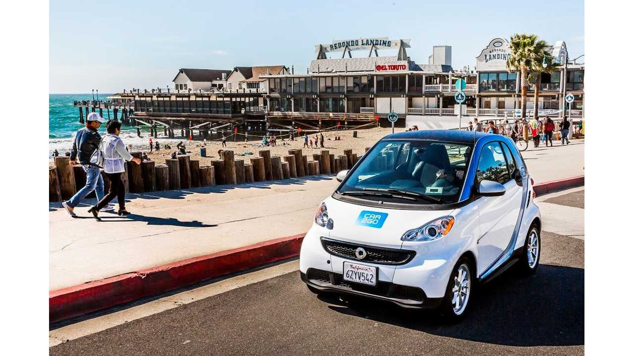San Diego's Car2Go Fleet Switching From Electric To Gas Cars Due To Lack Of Charging Infrastructure