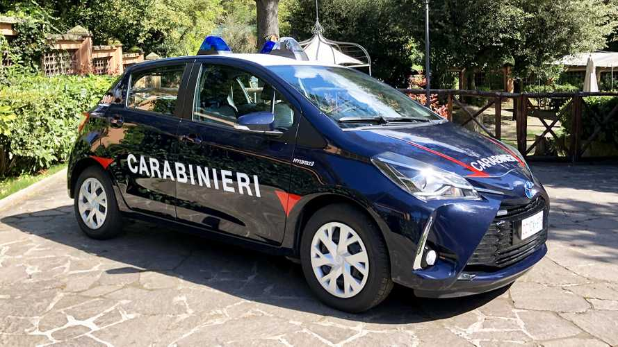 Toyota Yaris Hybrid Carabinieri