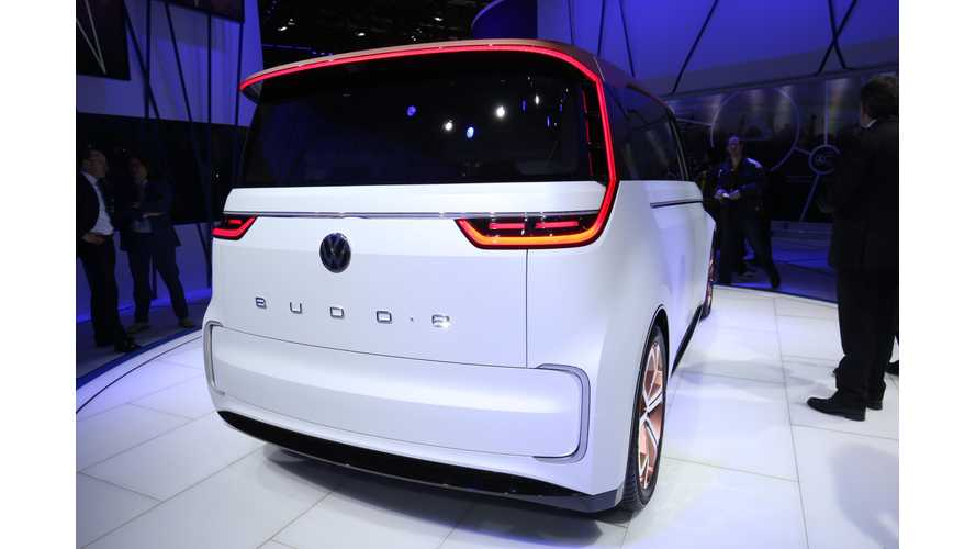 Volkswagen BUDD-e Update: 101 kWh Battery Provides 233 Miles Of EPA Range