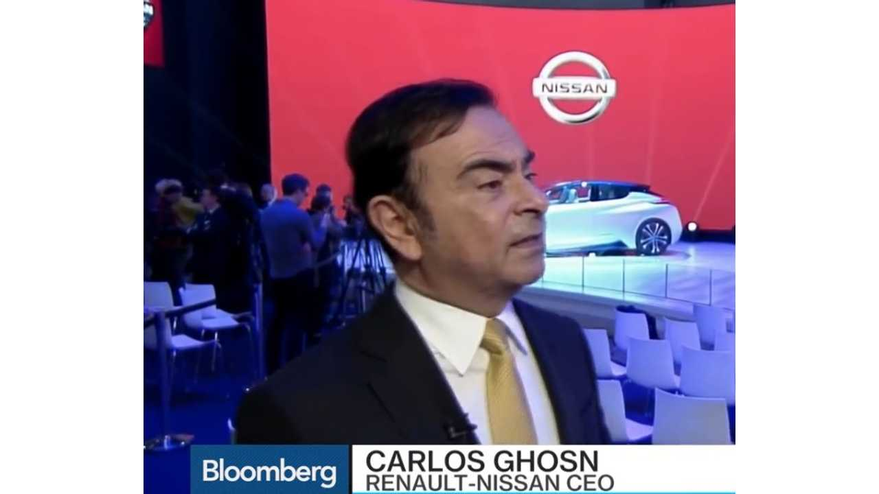 Nissan CEO: EVs Are The Only Solution For The Future - Video Interview