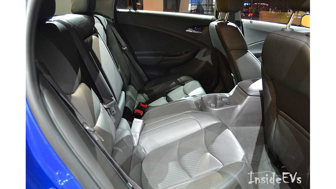 Always A Lively Topic - The Chevy Volt's Rear Seating! ((Image: Mike Anthony/InsideEVs)