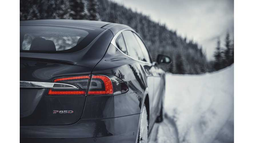 Tesla Model S Dual Motor Launch Event In Norway - Video