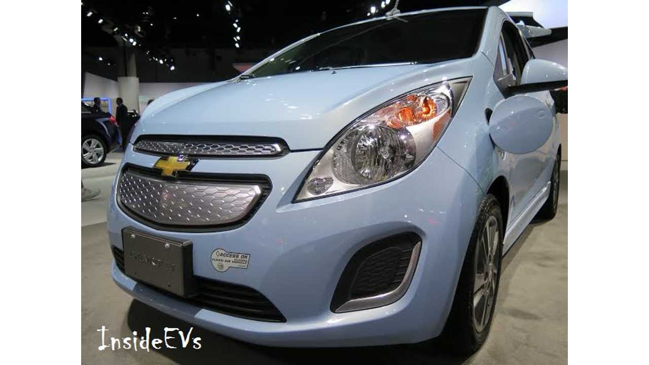 GM Lowers Price Of Chevrolet Spark EV To $25,995, Leases From $139 Month