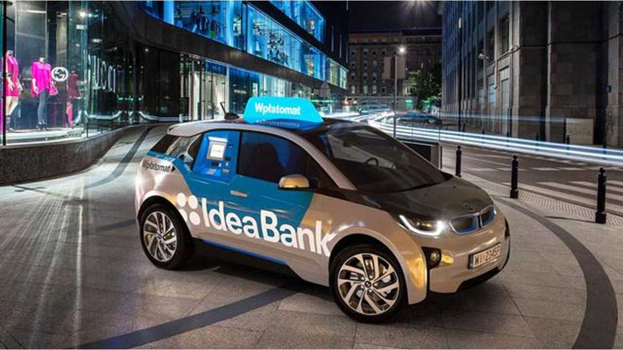 In Poland, 4 BMW i3s Serve As Mobile ATMs