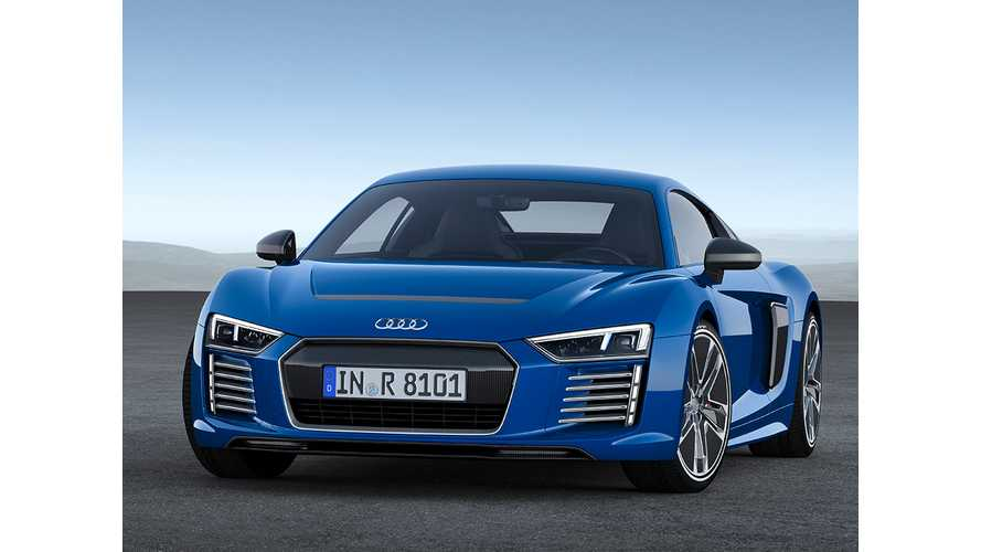 Audi Releases Images Of R8 e-tron