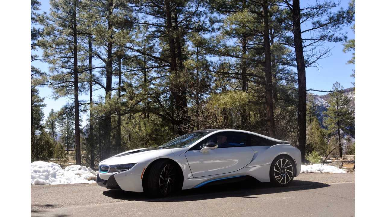 Road Tripping In a BMW i8 - Day 2