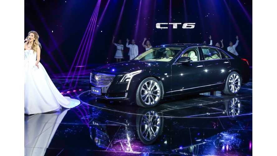 Cadillac CT6 PHEV Debuts In Shanghai, Gets 37 Miles Of Range