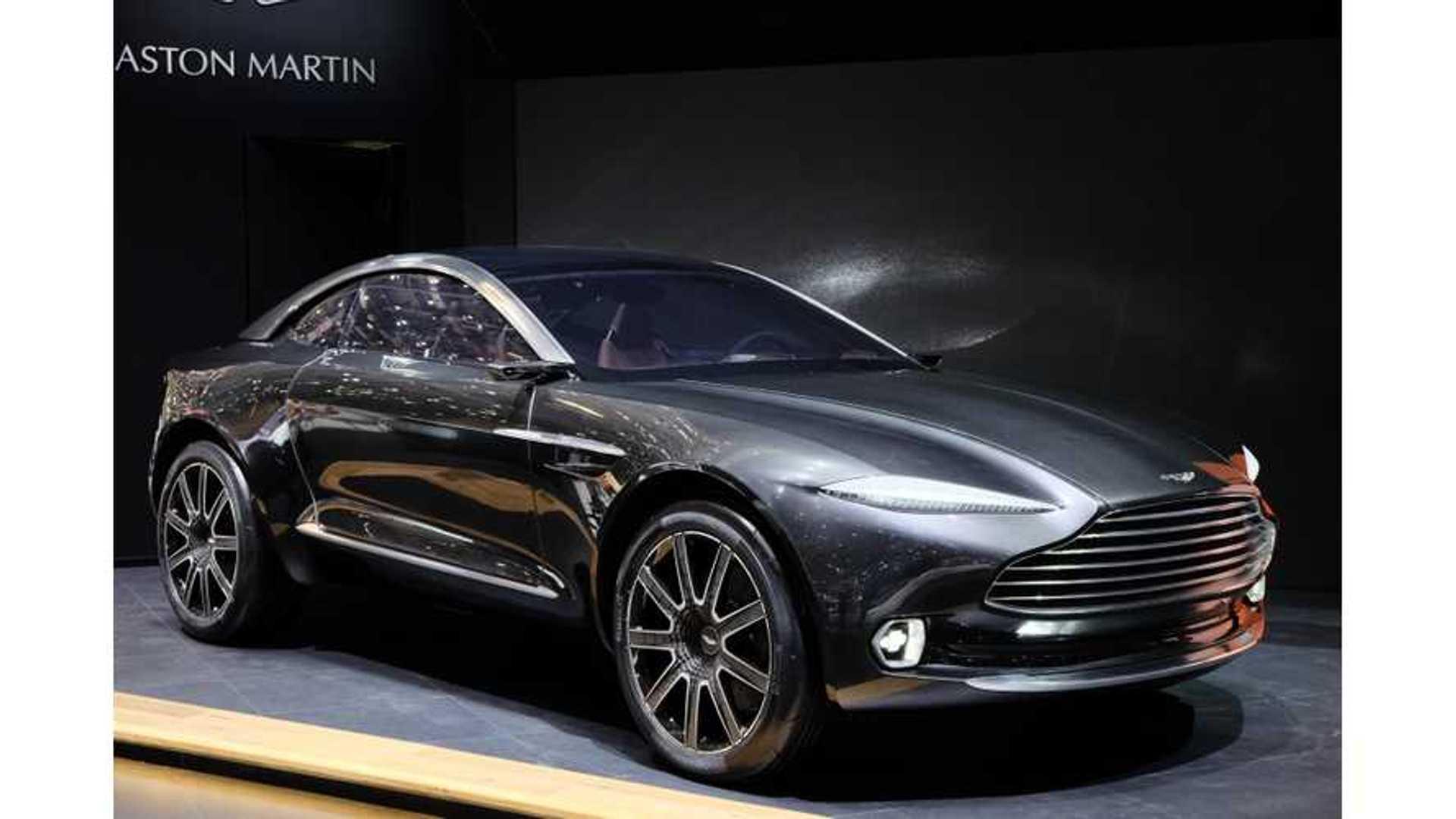 Aston Martin Dbx Live Images Videos From 2015 Geneva Motor Show