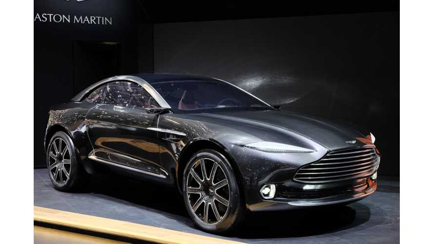 Aston Martin DBX - Live Images + Videos From 2015 Geneva Motor Show