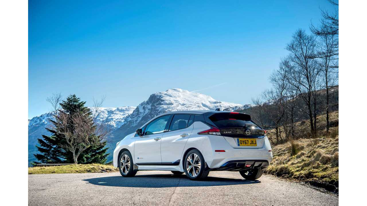 Nissan LEAF Is #1 Selling Electric Car In Europe