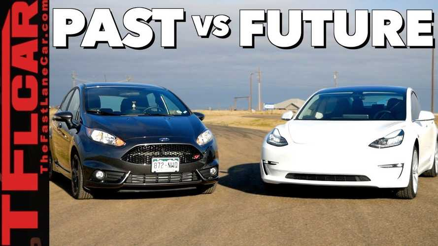 Is Tesla Model 3 Faster Than Ford Fiesta ST?