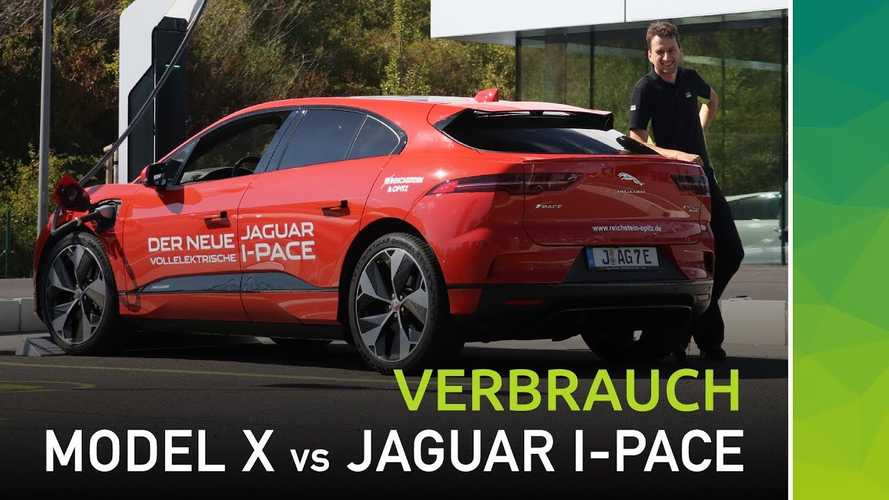 Autobahn Challenge: Will Jaguar I-PACE Keep Up With Tesla Model X?