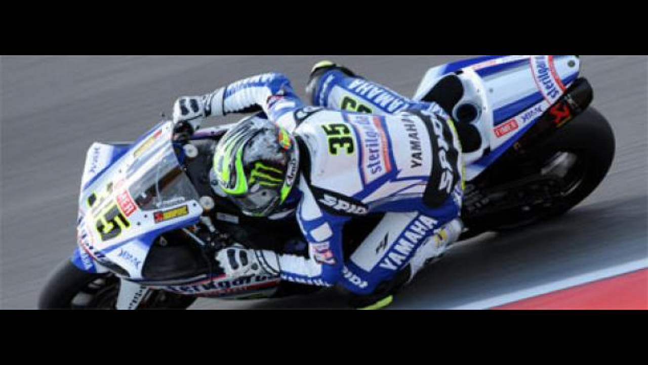 WSBK 2010 Portimao, Superpole: incredibile Crutchlow