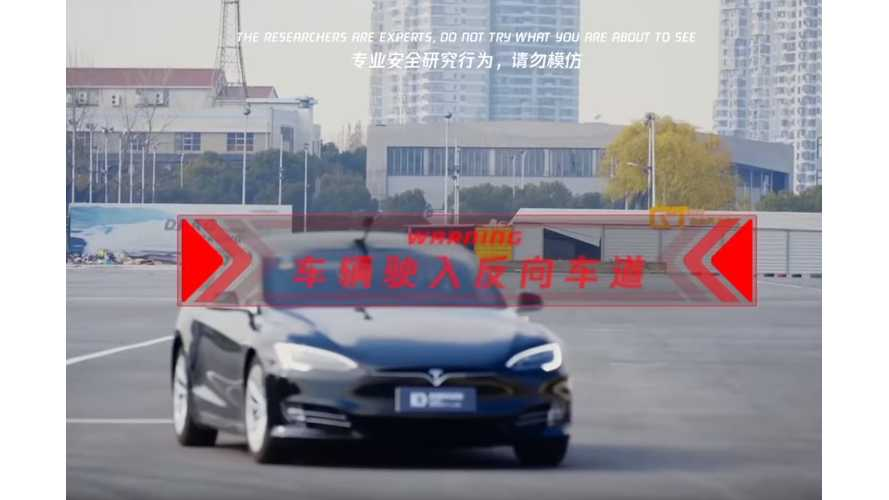 Hackers Cause Tesla Model S To Steer Itself Into Oncoming Lane: Video
