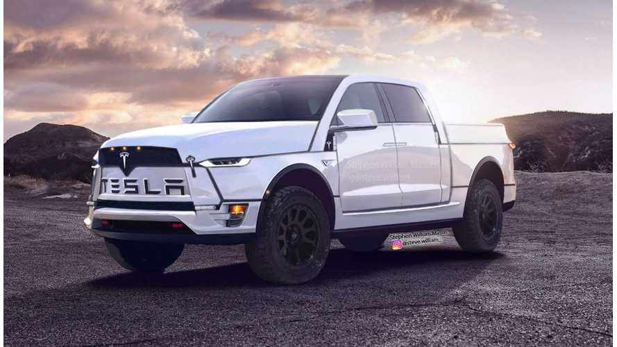 Electric Pickup Truck Weekly News: Tesla-Ram Interior, Rivian Gets $$$