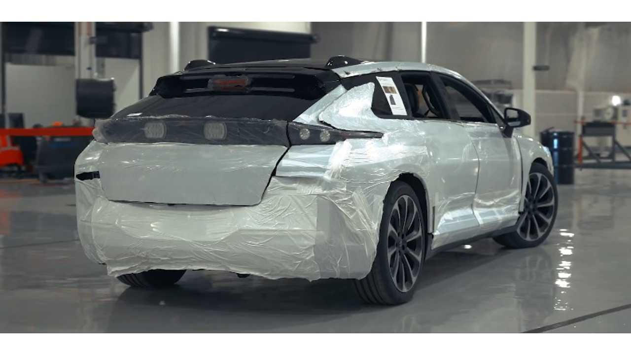 Faraday Future Reveals First Pre-Production FF91