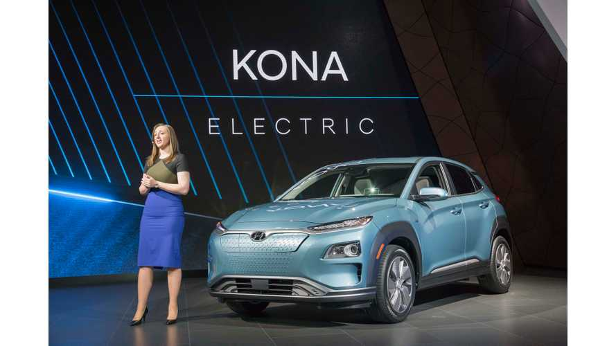 Hyundai Announces Kona Electric Pricing In UK