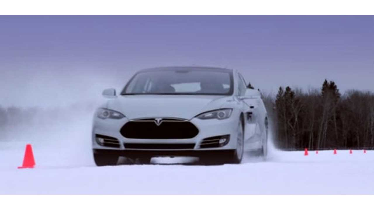 Tesla Model S Crowned King Of EVs In Snowy, Cold, Winter Tests