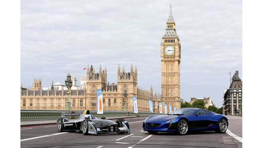 Rimac Concept_One To Conduct On-Track Inspections At Formula E Races