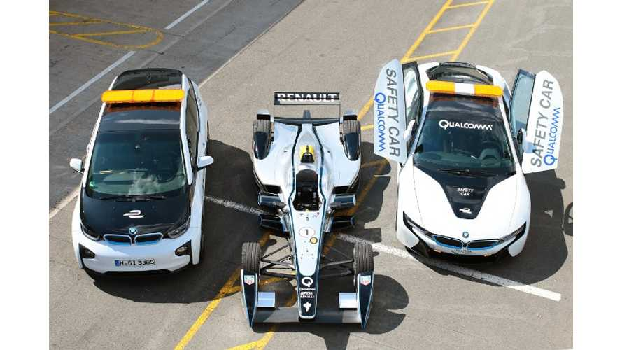 Formula E Support Cars Get Equipped With Wireless Charging