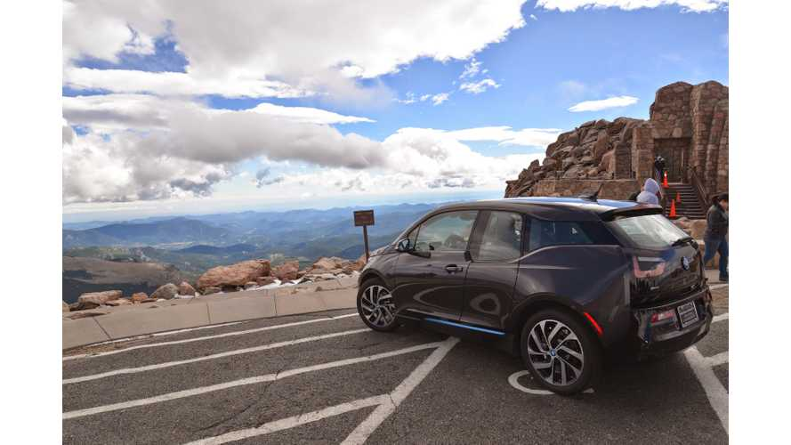 BMW i3 REx Goes Mountain Climbing