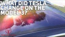 See The Changes: Old Versus New Tesla Model 3: Video