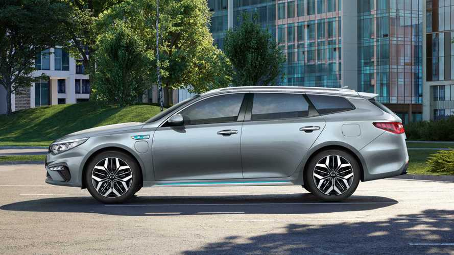 Updated Kia Optima PHEV Sportwagon Priced In UK