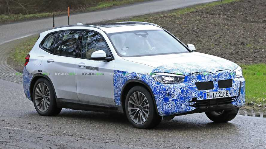 More BMW iX3 Spy Shots Pop Up One Year Before Launch