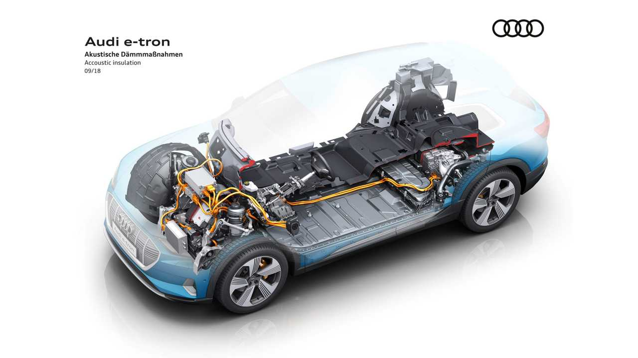Here Is How Acoustic Insulation Makes Audi e-tron Really Quiet