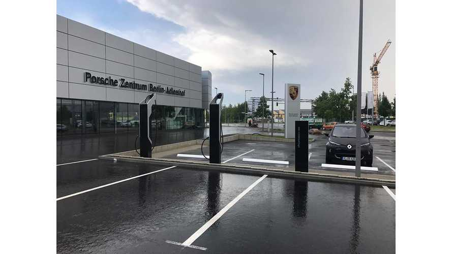 Porsche's First 350-kW Charging Station Now Ready In Germany, 2nd To Be Installed In Atlanta