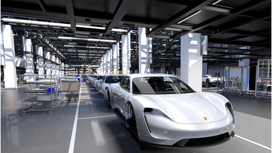 Porsche Explains Production Process For Electric Taycan