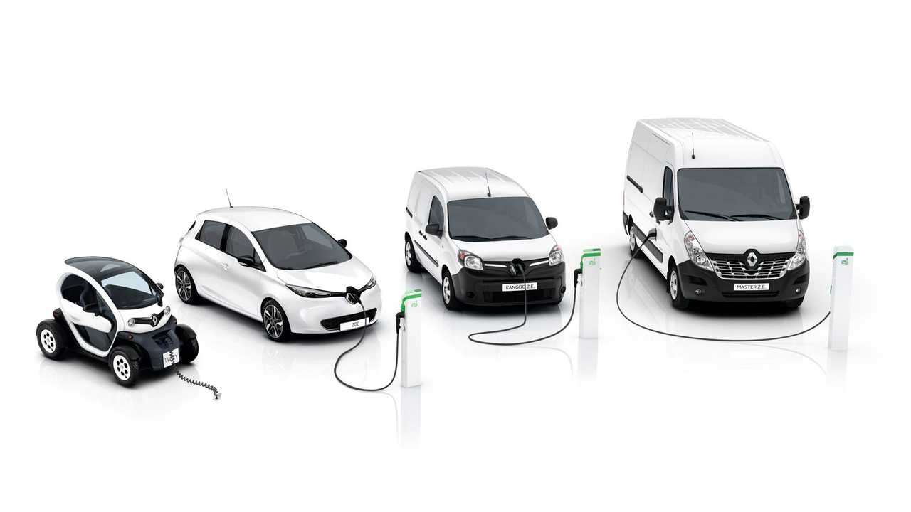 Renault Electric Car Sales Increase Slightly Over Past Two Months