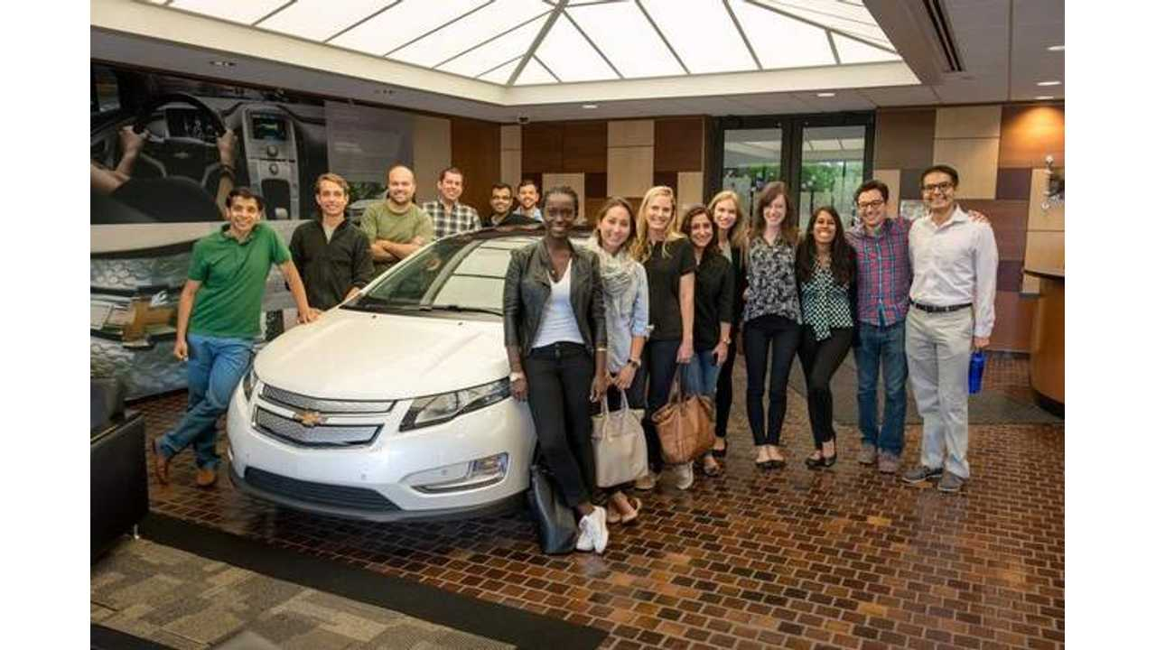 General Motors Donates 12 Chevy Volts For Good Cause
