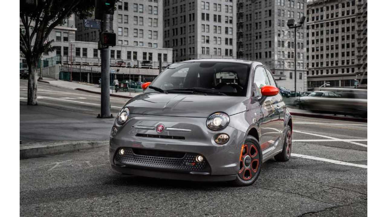 Fiat 500e To Go On Sale In Oregon This Summer
