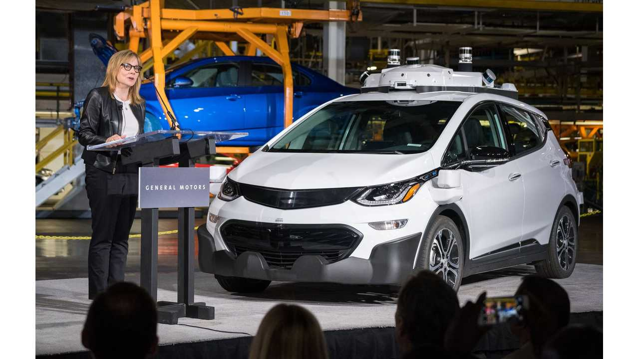 GM's Self-Driving Chevy Bolt (Photo by Steve Fecht for General Motors)