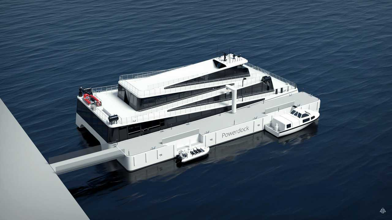 2.4 MWh Powerdock for the Future of the Fjords