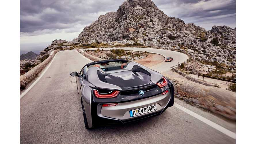 Wallpaper Wednesday: BMW i8 Roadster