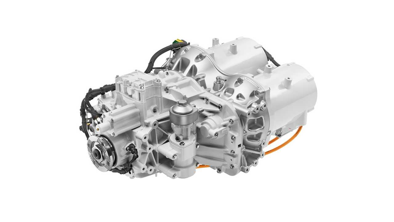 Volvo FE Electric - powertrain with two motors and 2-spead transmission