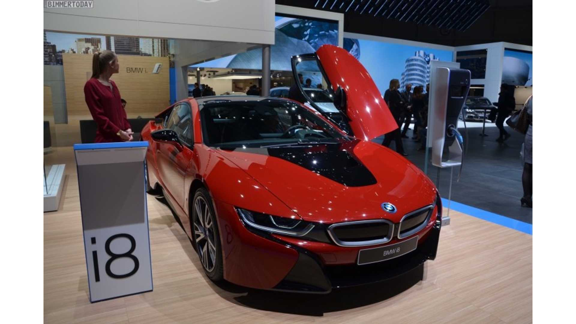 Refreshed 2018 Bmw I8 To Get Increased Electric Range More Power