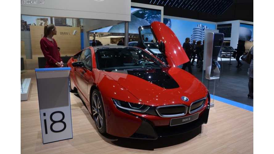 Refreshed 2018 BMW i8 To Get Increased Electric Range & More Power