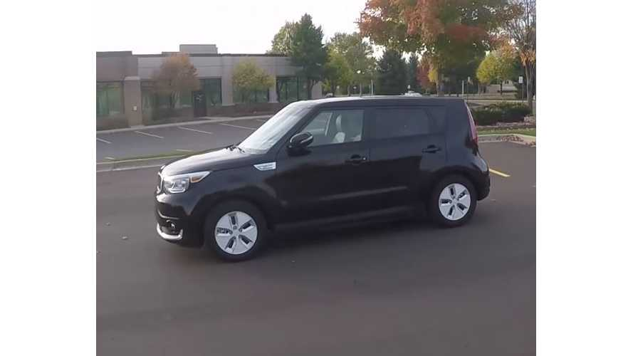 Winding Road Test Drive Review Of 2017 Kia Soul EV - Video