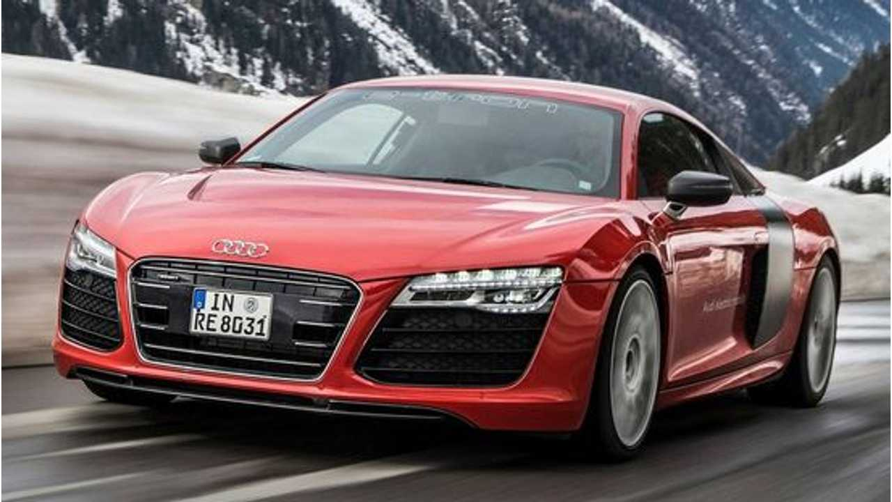 Confirmed: Audi R8 E-Tron BEV With 250 Miles Of Range Coming In 2015; PHEV Version A Possibility