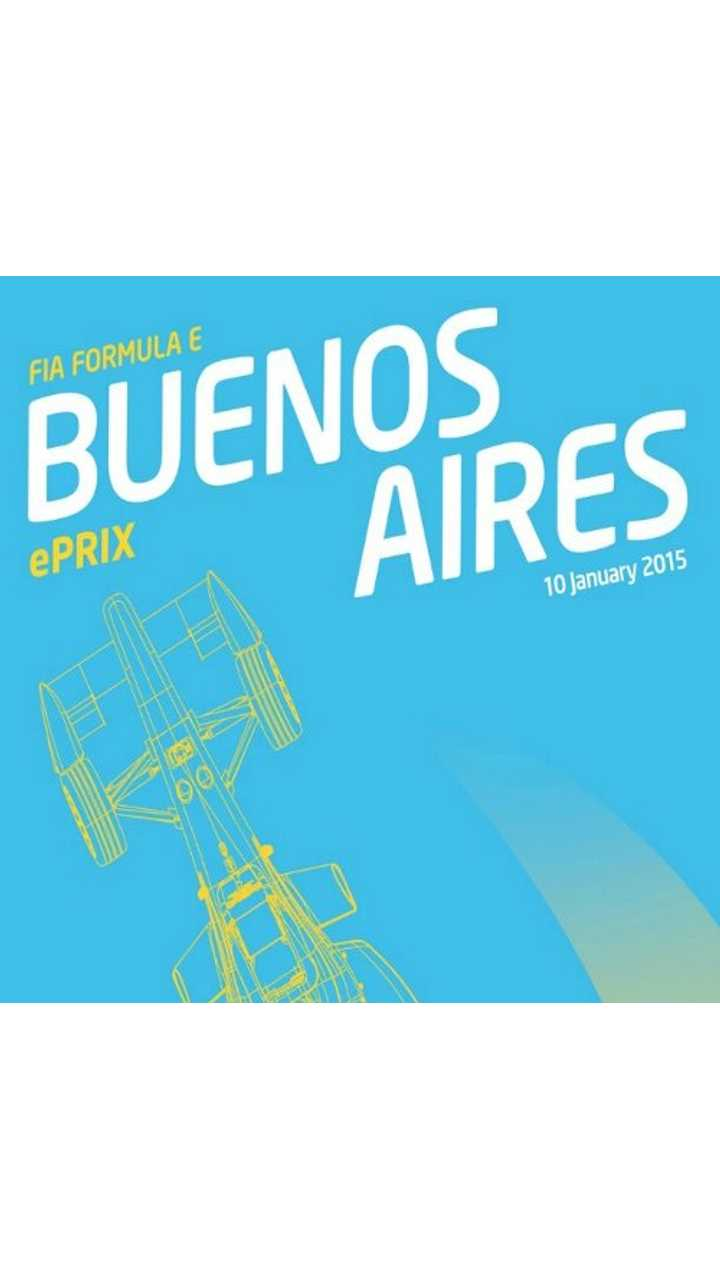 Race Reminder - 4th Round Of Formula E in Buenos Aires on January 10