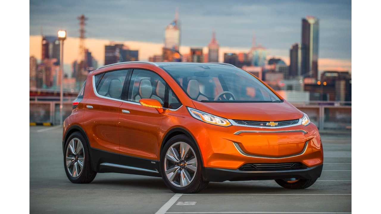Official Chevrolet Bolt Details: 200+ Miles, Starting Price Of $30,000 - Pics, Videos