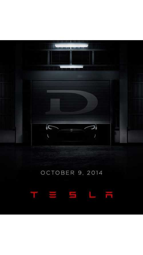 Tesla 'D' To Be Unveiled October 9th - And Something Else Too
