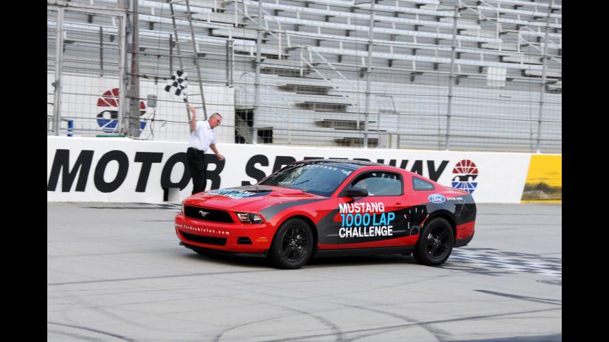 Ford Mustang V6: 1.250 km con un pieno